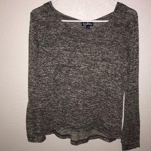5/$15 Gray Freshman Hoodie size medium
